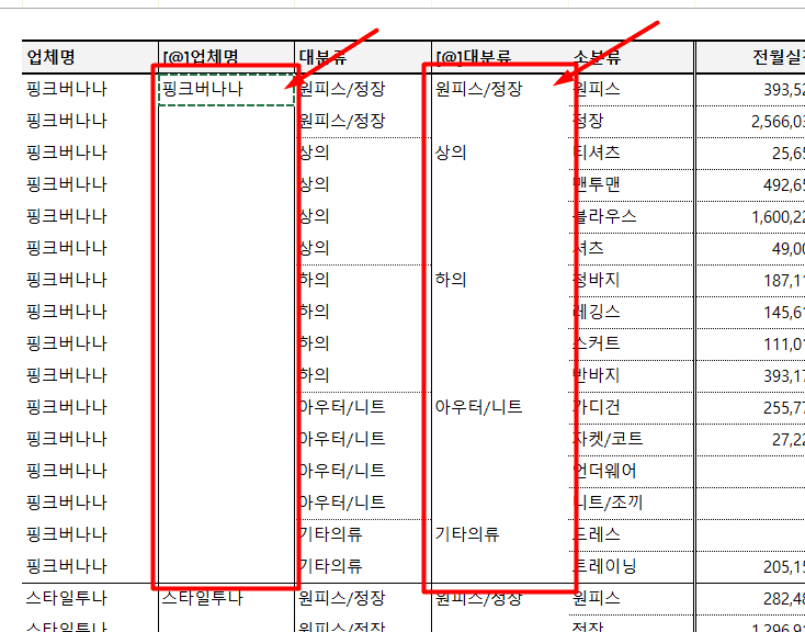 6b. 반복된 데이터 제거