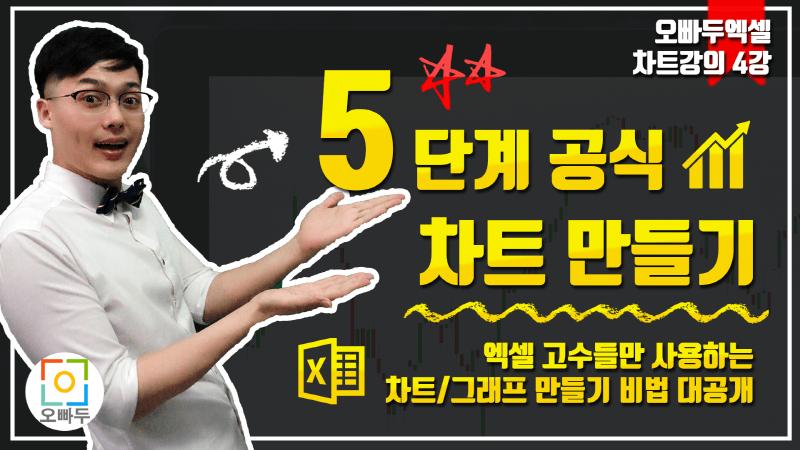 엑셀 차트 그래프 만들기 총정리 5단계 비법 썸네일_800