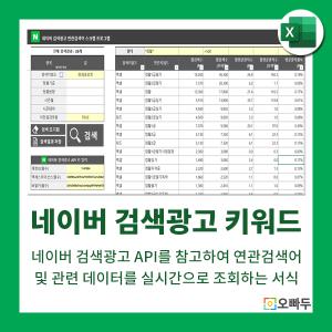 네이버 검색광고 키워드 서식 썸네일