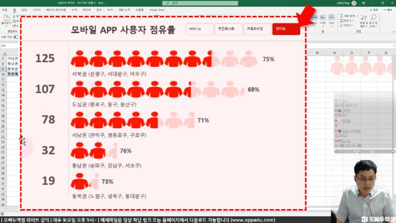엑셀 인구 그래프 후_R