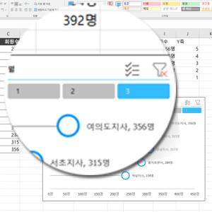 회원현황 데이터 갱신
